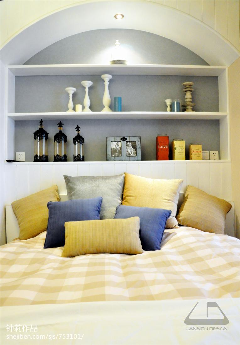 面积101平混搭三居卧室装修图片欣赏