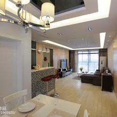 精选大小105平现代三居客厅装修设计效果图片