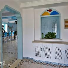 热门复式玄关地中海装修设计效果图片欣赏