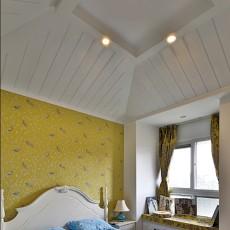 热门地中海复式卧室效果图