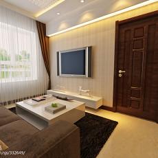 精选大小80平现代二居客厅实景图片