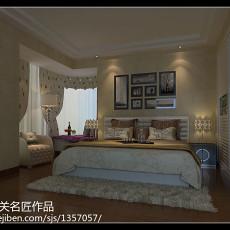 精选97平米三居卧室现代装修图片欣赏
