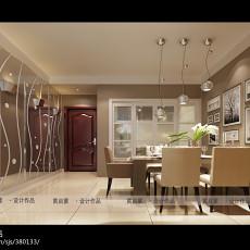 精选79平米二居餐厅现代效果图片大全
