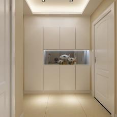精选面积98平现代三居玄关装修设计效果图