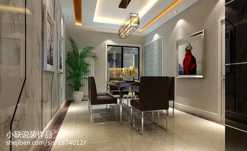 精美面积85平公寓现代装修图片