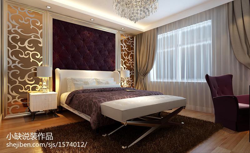 精美面积73平公寓卧室现代实景图片大全