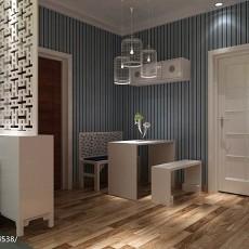 精选90平米三居餐厅现代装修设计效果图片欣赏