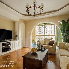 热门大小91平美式三居客厅装修图片欣赏