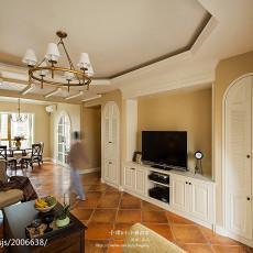 精选107平方三居客厅美式欣赏图