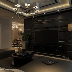111平米四居客厅现代实景图片
