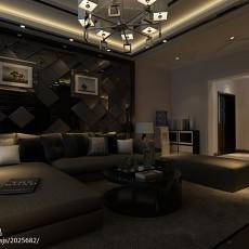 精美面积142平现代四居客厅欣赏图片