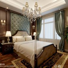 三居卧室欧式装饰图片大全