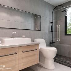 二居卫生间现代装修图片欣赏