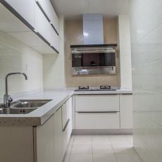 201880平米二居厨房现代欣赏图