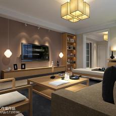 精美面积73平小户型客厅现代实景图片大全