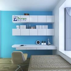 热门81平米二居儿童房现代装修图