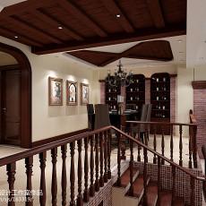 2018面积132平别墅餐厅新古典装修图