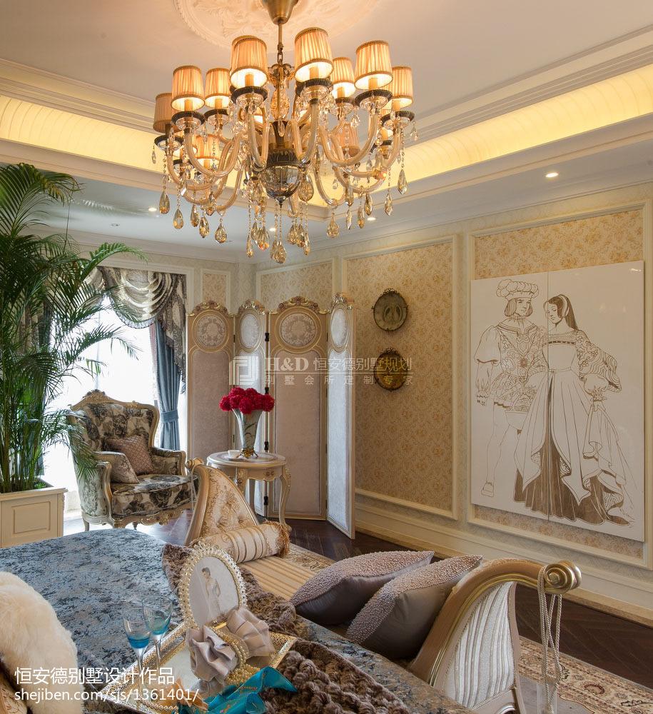 欧式卧室装修欣赏图