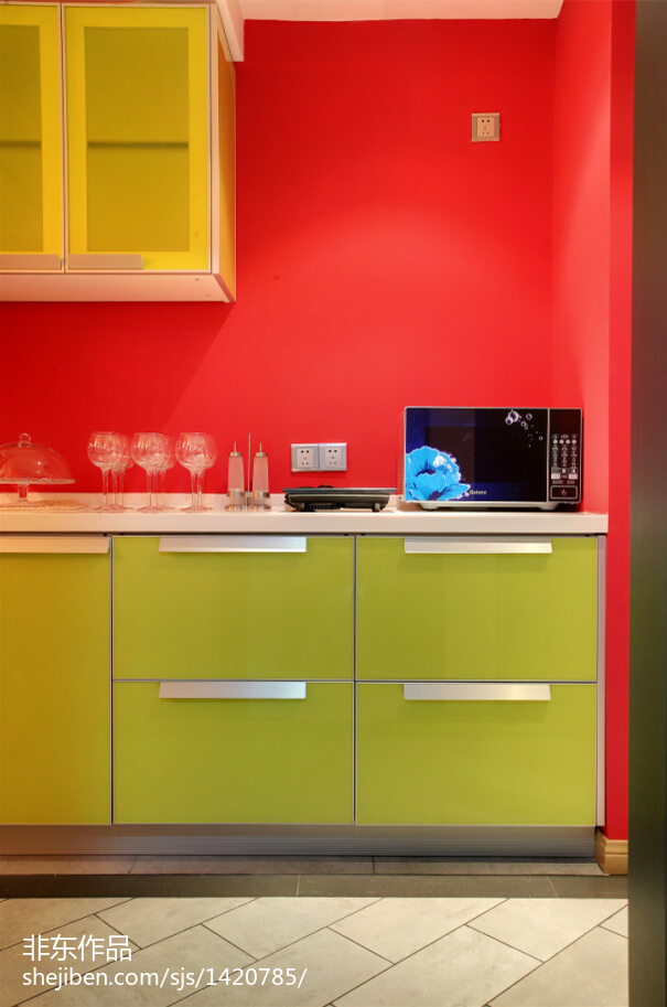 厨房橱柜门图片