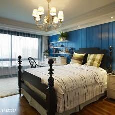 精选121平米地中海别墅卧室欣赏图片