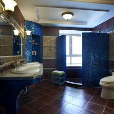 热门地中海别墅卫生间设计效果图