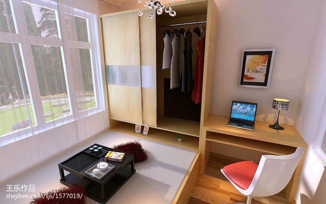 55平米小户型卧室装修效果图