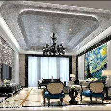 热门现代别墅客厅装修欣赏图