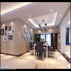 精选面积97平现代三居餐厅装修设计效果图片大全