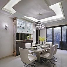 精选123平米四居餐厅现代设计效果图