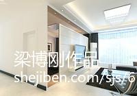 2018143平米四居客厅现代装修实景图片大全