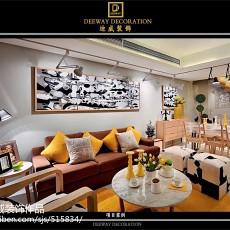 精选大小117平现代四居客厅装修图片大全