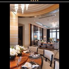 精选73平米二居餐厅欧式实景图片大全