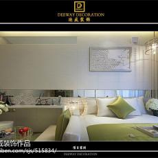2018精选77平米二居卧室现代装修效果图片欣赏