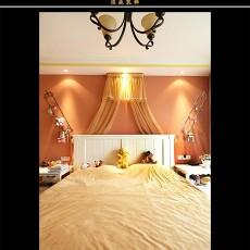 精选大小93平欧式三居卧室效果图片