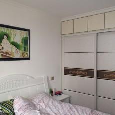精美三居卧室现代装修实景图