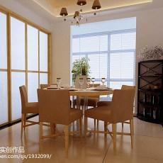 精选108平米三居餐厅欧式装修欣赏图