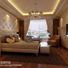 精选103平米三居卧室欧式装修欣赏图