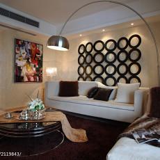 热门117平方四居客厅现代装修图片欣赏
