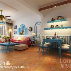 精选122平米四居客厅中式装修设计效果图片欣赏