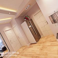 面积75平现代二居客厅效果图片