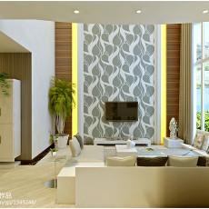 2018精选127平米现代复式客厅装修图片大全