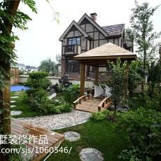 精选119平米欧式别墅花园装修设计效果图