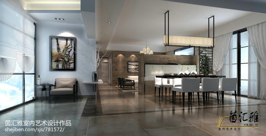 四室两厅现代简约风格房子装修 2014最新简约客厅装修效果图