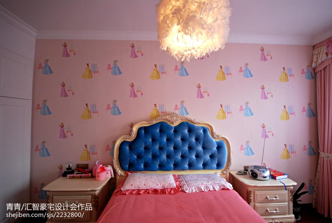 精美欧式复式儿童房装修欣赏图片