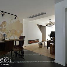 热门面积127平复式餐厅现代装修实景图