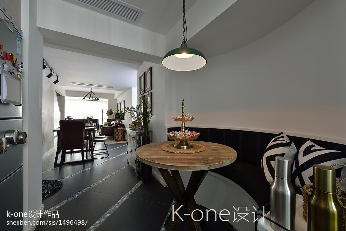 精美面积112平复式餐厅现代装修图片欣赏