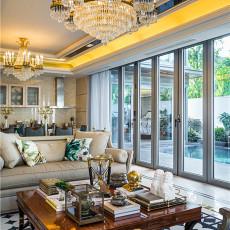 2018精选118平米东南亚别墅客厅欣赏图片