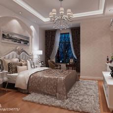 精选108平米三居卧室欧式装修设计效果图片大全