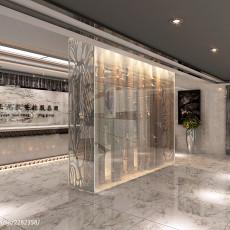 精美美式别墅餐厅装修图