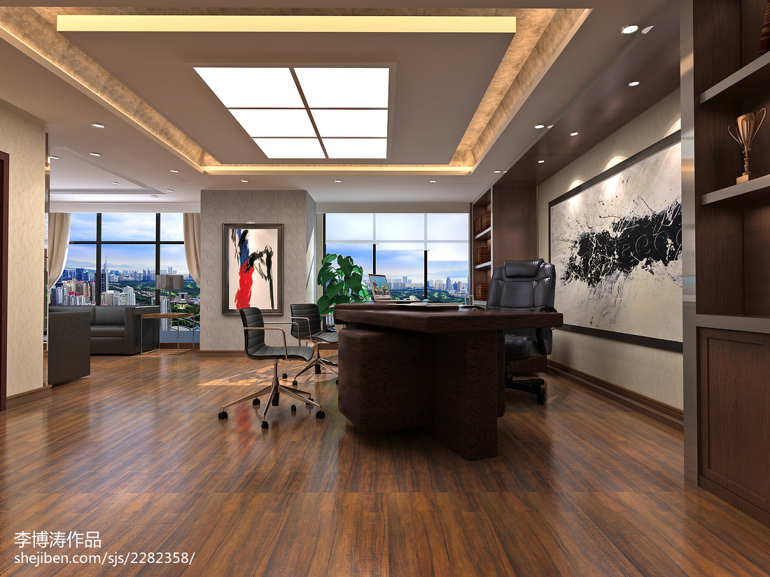 精美面积140平复式卧室欧式装修效果图
